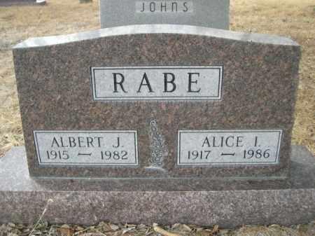 RABE, ALBERT J. - Sioux County, Nebraska | ALBERT J. RABE - Nebraska Gravestone Photos