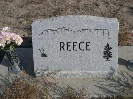 REECE, FAMILY - Sioux County, Nebraska | FAMILY REECE - Nebraska Gravestone Photos