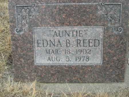 REED, EDNA B. - Sioux County, Nebraska | EDNA B. REED - Nebraska Gravestone Photos