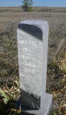 RING, HATTIE A. - Sioux County, Nebraska | HATTIE A. RING - Nebraska Gravestone Photos