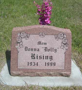 "RISING, DONNA ""DOLLY"" - Sioux County, Nebraska 