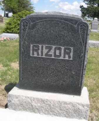 RIZOR, FAMILY - Sioux County, Nebraska | FAMILY RIZOR - Nebraska Gravestone Photos