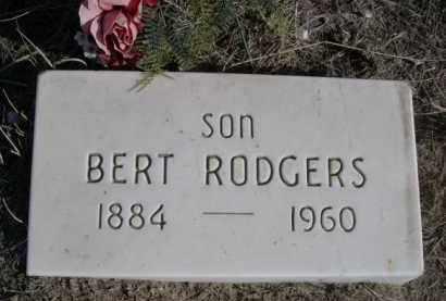 RODGERS, BERT - Sioux County, Nebraska | BERT RODGERS - Nebraska Gravestone Photos