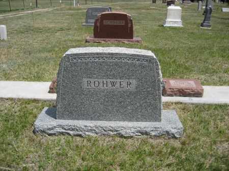 ROWER, FAMILY - Sioux County, Nebraska   FAMILY ROWER - Nebraska Gravestone Photos
