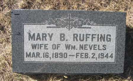RUFFING, MARY B. - Sioux County, Nebraska | MARY B. RUFFING - Nebraska Gravestone Photos