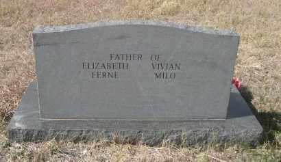 SAXTON, MILFORD - Sioux County, Nebraska | MILFORD SAXTON - Nebraska Gravestone Photos