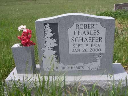 SCHAEFER, ROBERT CHARLES - Sioux County, Nebraska | ROBERT CHARLES SCHAEFER - Nebraska Gravestone Photos
