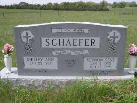 SCHAEFER, SHIRLEY ANN - Sioux County, Nebraska | SHIRLEY ANN SCHAEFER - Nebraska Gravestone Photos