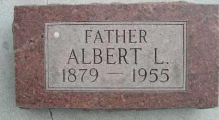 SCHNURR, ALBERT L. - Sioux County, Nebraska | ALBERT L. SCHNURR - Nebraska Gravestone Photos