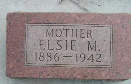 SCHNURR, ELSIE M. - Sioux County, Nebraska | ELSIE M. SCHNURR - Nebraska Gravestone Photos