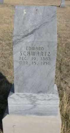 SCHWARTZ, EDWARD - Sioux County, Nebraska | EDWARD SCHWARTZ - Nebraska Gravestone Photos