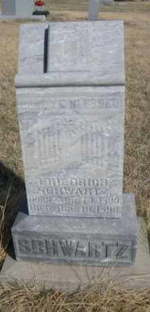 SCHWARTZ, FRIEDERICH - Sioux County, Nebraska | FRIEDERICH SCHWARTZ - Nebraska Gravestone Photos