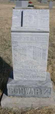 SCHWARTZ, GUSTAV - Sioux County, Nebraska | GUSTAV SCHWARTZ - Nebraska Gravestone Photos