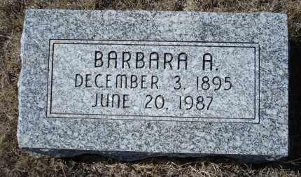 SEMROSKA, BARBARA A. - Sioux County, Nebraska | BARBARA A. SEMROSKA - Nebraska Gravestone Photos
