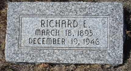 SEMROSKA, RICHARD E. - Sioux County, Nebraska | RICHARD E. SEMROSKA - Nebraska Gravestone Photos