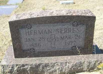 SERRES, HERMAN - Sioux County, Nebraska | HERMAN SERRES - Nebraska Gravestone Photos