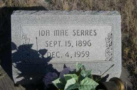SERRES, IDA MAE - Sioux County, Nebraska | IDA MAE SERRES - Nebraska Gravestone Photos