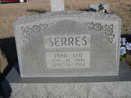 SERRES, JOHN LEO - Sioux County, Nebraska | JOHN LEO SERRES - Nebraska Gravestone Photos