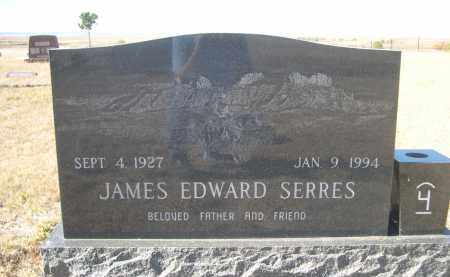 SERRES, JAMES EDWARD - Sioux County, Nebraska | JAMES EDWARD SERRES - Nebraska Gravestone Photos
