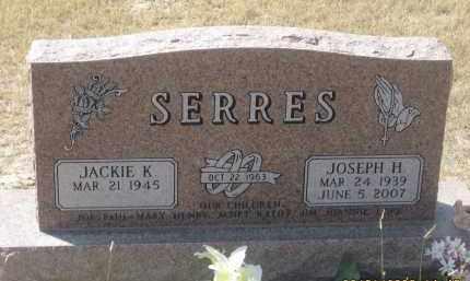SERRES, JOSEPH H. - Sioux County, Nebraska   JOSEPH H. SERRES - Nebraska Gravestone Photos