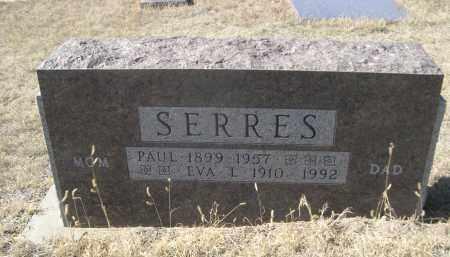 SERRES, PAUL - Sioux County, Nebraska   PAUL SERRES - Nebraska Gravestone Photos