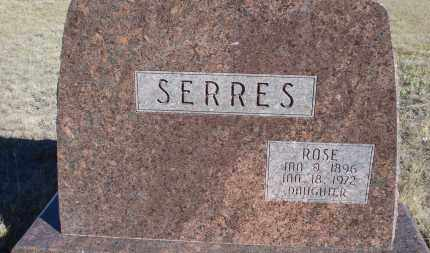SERRES, ROSE - Sioux County, Nebraska | ROSE SERRES - Nebraska Gravestone Photos