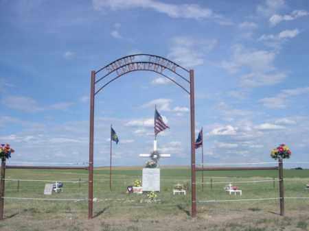*SHEEP CREEK CEMETERY, ENTRANCE TO - Sioux County, Nebraska | ENTRANCE TO *SHEEP CREEK CEMETERY - Nebraska Gravestone Photos