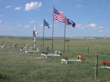 *SHEEP CREEK CEMETERY, FLAGS AT - Sioux County, Nebraska | FLAGS AT *SHEEP CREEK CEMETERY - Nebraska Gravestone Photos