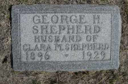 SHEPHERD, GEORGE H. - Sioux County, Nebraska | GEORGE H. SHEPHERD - Nebraska Gravestone Photos