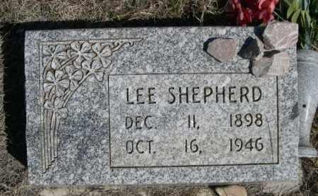 SHEPHERD, LEE - Sioux County, Nebraska   LEE SHEPHERD - Nebraska Gravestone Photos