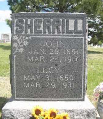 SHERRILL, LUCY - Sioux County, Nebraska | LUCY SHERRILL - Nebraska Gravestone Photos