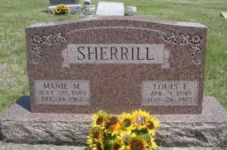 SHERRILL, LOUIS E. - Sioux County, Nebraska | LOUIS E. SHERRILL - Nebraska Gravestone Photos