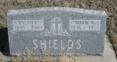 SHIELDS, RALPH I - Sioux County, Nebraska | RALPH I SHIELDS - Nebraska Gravestone Photos