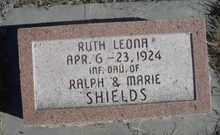 SHIELDS, RUTH LEONA - Sioux County, Nebraska | RUTH LEONA SHIELDS - Nebraska Gravestone Photos