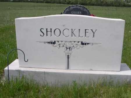 SHOCKLEY, FAMILY - Sioux County, Nebraska | FAMILY SHOCKLEY - Nebraska Gravestone Photos