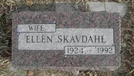 SKAVDAHL, ELLEN - Sioux County, Nebraska | ELLEN SKAVDAHL - Nebraska Gravestone Photos