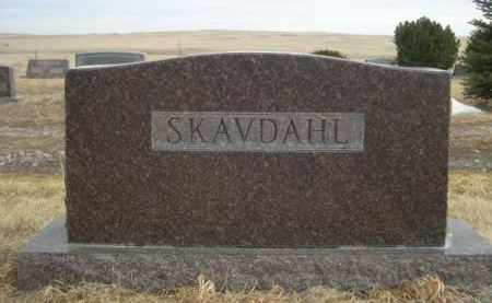 SKAVDAHL, FAMILY - Sioux County, Nebraska | FAMILY SKAVDAHL - Nebraska Gravestone Photos