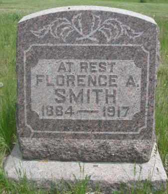 SMITH, FLORENCE A. - Sioux County, Nebraska | FLORENCE A. SMITH - Nebraska Gravestone Photos