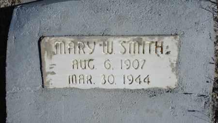 SMITH, MARY W. - Sioux County, Nebraska | MARY W. SMITH - Nebraska Gravestone Photos