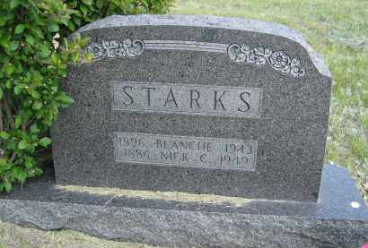 STARKS, BLANCHE - Sioux County, Nebraska | BLANCHE STARKS - Nebraska Gravestone Photos