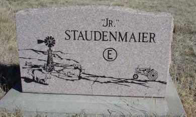 "STAUDENMAIER, ""JR."" - Sioux County, Nebraska | ""JR."" STAUDENMAIER - Nebraska Gravestone Photos"