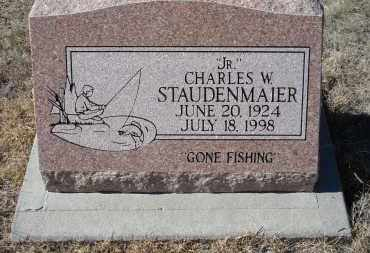 STAUDENMAIER, CHARLES W. JR. - Sioux County, Nebraska | CHARLES W. JR. STAUDENMAIER - Nebraska Gravestone Photos