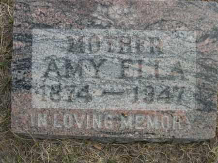 STORY, AMY ELLA - Sioux County, Nebraska   AMY ELLA STORY - Nebraska Gravestone Photos
