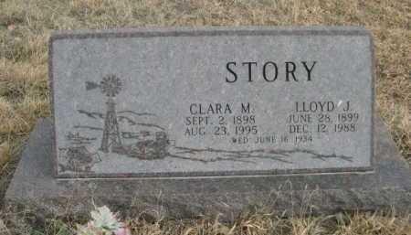STORY, CLARA M. - Sioux County, Nebraska | CLARA M. STORY - Nebraska Gravestone Photos