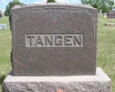 TANGEN, FAMILY - Sioux County, Nebraska | FAMILY TANGEN - Nebraska Gravestone Photos