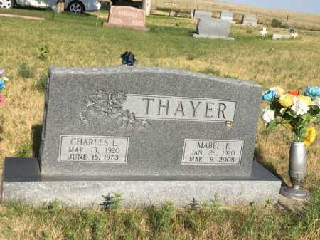 THAYER, MABEL F. - Sioux County, Nebraska | MABEL F. THAYER - Nebraska Gravestone Photos