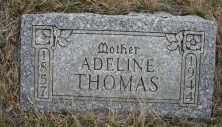 THOMAS, ADELINE - Sioux County, Nebraska | ADELINE THOMAS - Nebraska Gravestone Photos