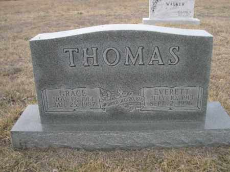 THOMAS, GRACE - Sioux County, Nebraska | GRACE THOMAS - Nebraska Gravestone Photos