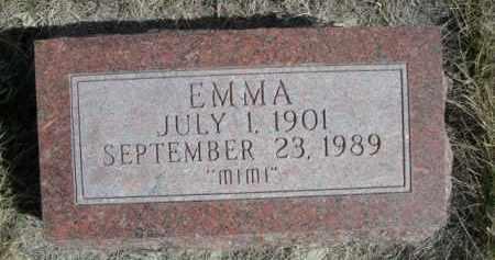 "TIPTON, EMMA ""MIMI"" - Sioux County, Nebraska | EMMA ""MIMI"" TIPTON - Nebraska Gravestone Photos"