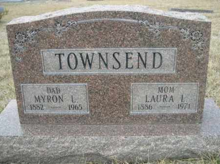 TOWNSEND, MYRON L. - Sioux County, Nebraska   MYRON L. TOWNSEND - Nebraska Gravestone Photos